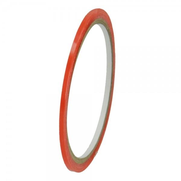 Tacky Spezial Doppelklebeband, 3 mm, 5 m, Farbe: transparent